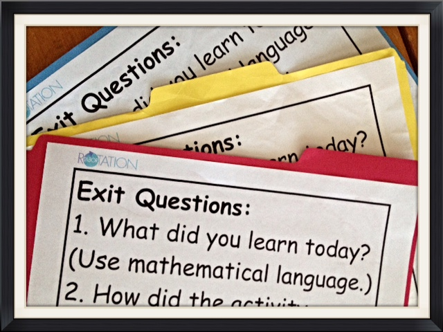 exit questions, multi