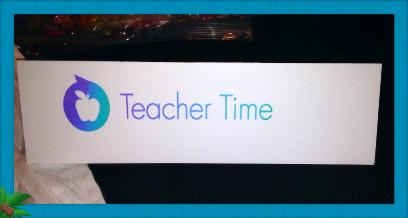 Teacher Time Sign