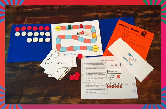 Integers in Math Stations Glenna Tabor 640 x 422 jpeg EDUCATOR-page-FREE-materials-secondary-level-Integer-Cram.jpg